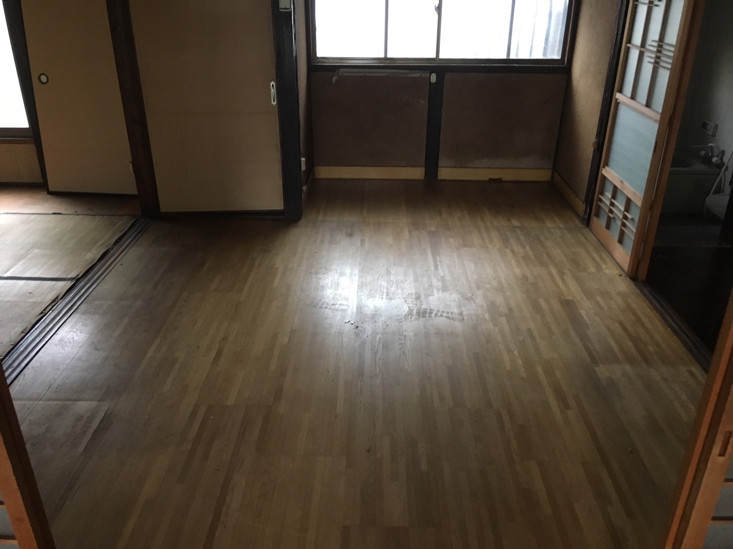 大阪府摂津市K様宅の不用品回収後の写真